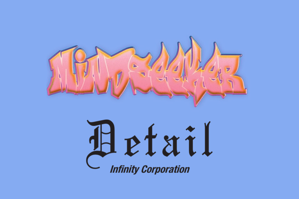 "mindseeker ×""Detail POP UP STORE"""