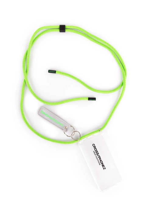 Crossphone Neon Green Rope Casel Iphone Cover XS