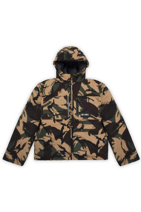 M+RC Green Camo East Puffer Jacket