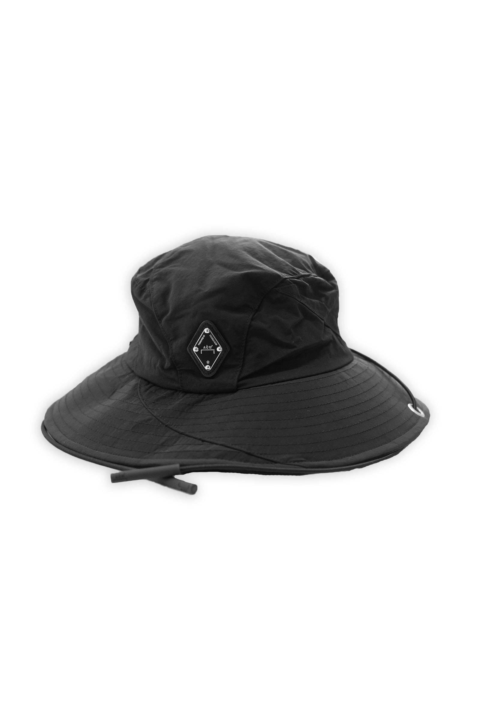 Accessory Curved Panel Drawcord Bucket Hat